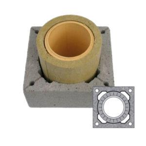 Комплект дымохода 0,33 м.п. Schiedel UNI одноходовой без вентиляции