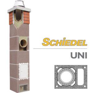 Schiedel UNI одноходовой дымоход с вентиляцией основание