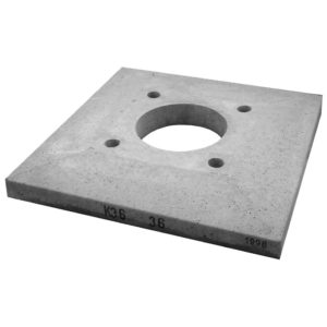 Консольная плита для одноходового дымохода без вентиляции