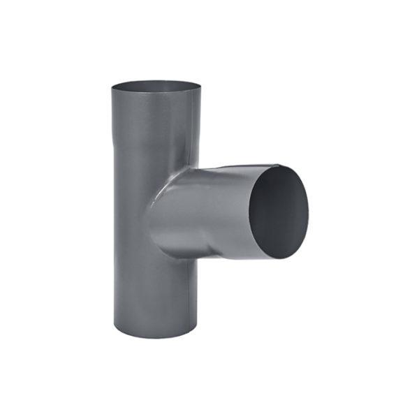 Aquasystem тройник трубы серый RR23