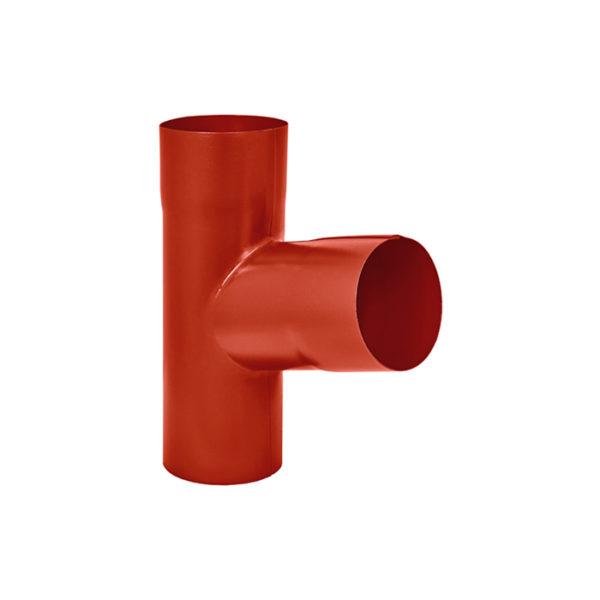 Aquasystem тройник трубы красный RR29