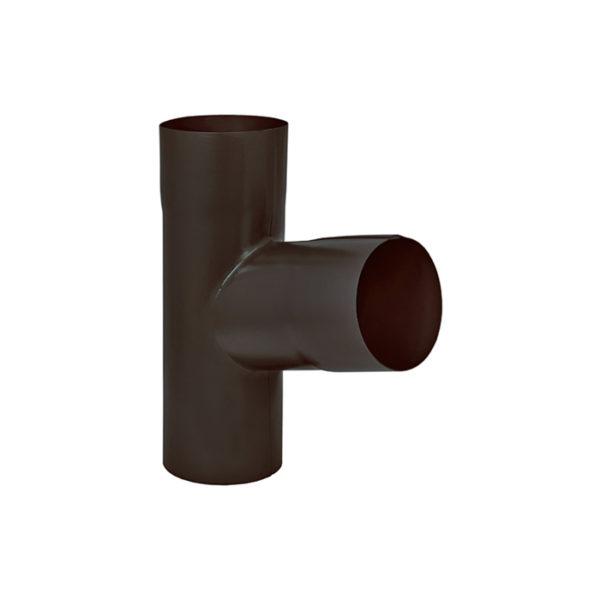 Aquasystem тройник трубы темно-коричневый RR32