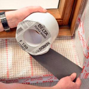 delta flexx f100 соединительная и уплотнительная лента