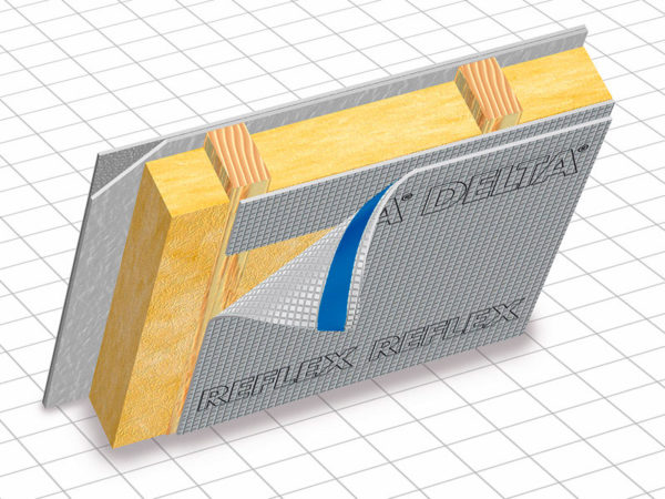 DELTA REFLEX пароизоляция с алюминиевым рефлексным слоем