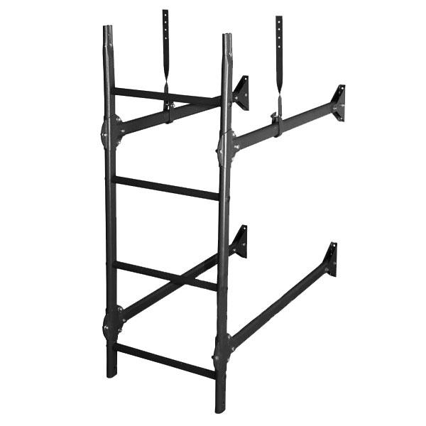 Стеновая лестница элит RAL9005