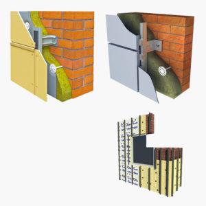 Подконструкция вентфасада