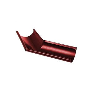 МП Престиж угол желоба внешний 135 градусов вишня RAL3005