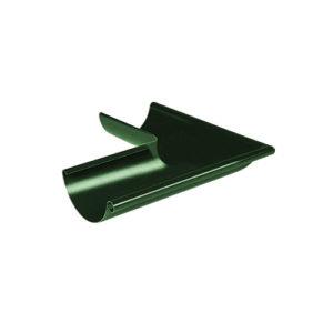 МП Престиж угол желоба внешний 90 градусов зеленый RAL6005