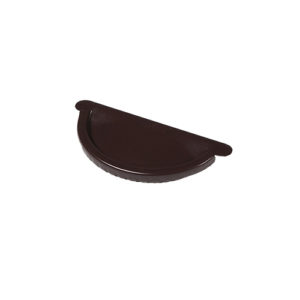 МП Престиж заглушка желоба коричневый RAL8017