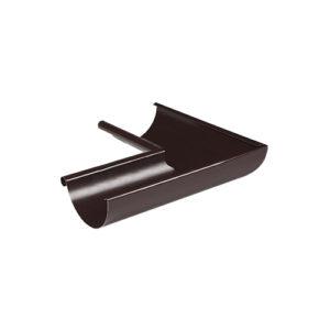 МП Престиж угол желоба внутренний 90 градусов коричневый RAL8017