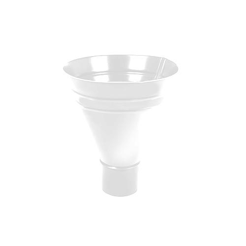 МП Престиж воронка водосборная белый RAL9010