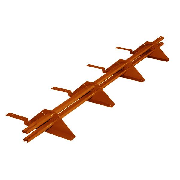 Снегозадержатель трубчатый престиж композит RAL8004