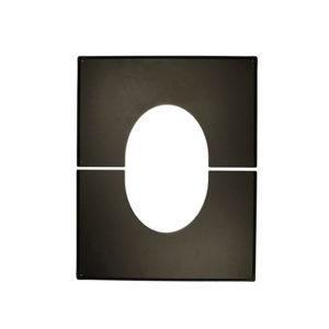 Schiedel PERMETER 25 декоративная разъемная пластина 35° - 45°