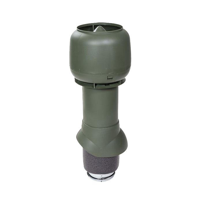 Вентиляционный выход утепленный 125/ИЗ/500 vilpe зеленый