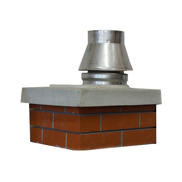 Schiedel UNI верхний комплект под обмуровку кирпичом 11,5 см