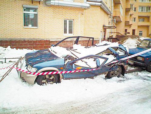 Снегозадержатели последствия