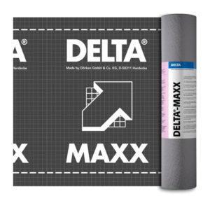 Диффузионная мембрана с адсорбционным слоем DELTA-MAXX для гидроизоляции кровли