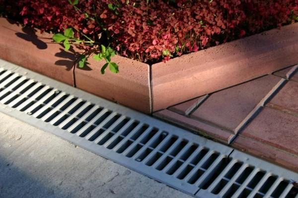 Дренажные водоприемные решетки