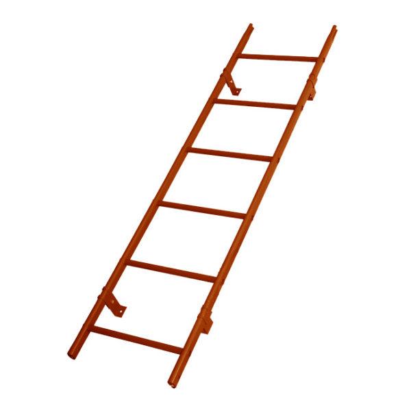 Лестница кровельная RAL 8004