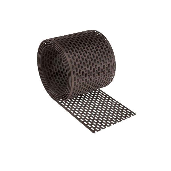 Вентиляционная лента свеса ПВХ коричневый
