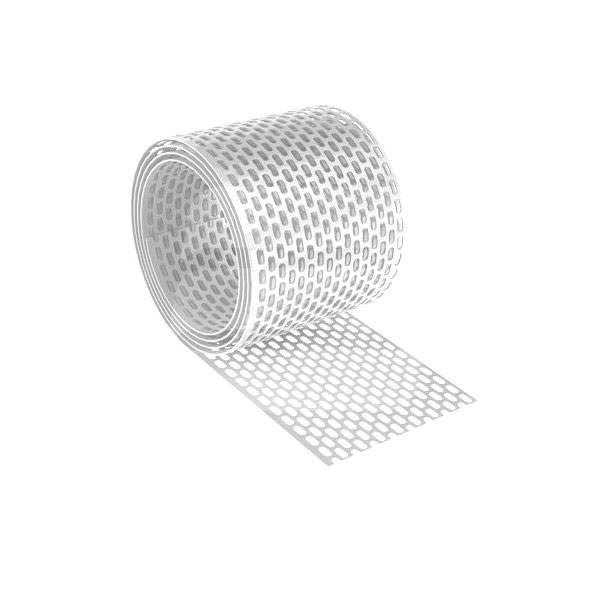 Вентиляционная лента свеса ПВХ белый