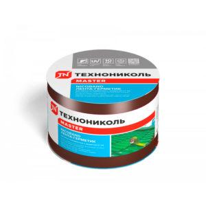 Nicoband 10 см лента самоклеящаяся герметизирующая коричневый