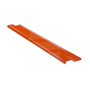 Прижимная планка стальная 2 м красный