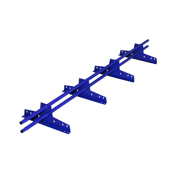 Снегозадержатель трубчатый эконом RAL5005