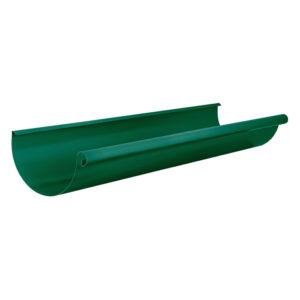 Aquasystem желоб водосточный 3 метра зеленый RAL6005