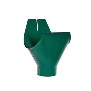 Aquasystem воронка желоба зеленый RAL6005
