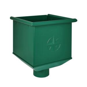Aquasystem воронка водосборная зеленый RAL6005
