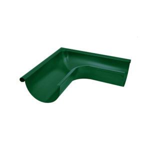 Aquasystem угол желоба внешний 90 градусов зеленый RAL6005