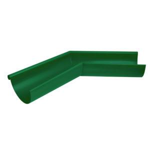 Aquasystem угол желоба внешний 135 градусов зеленый RAL6005