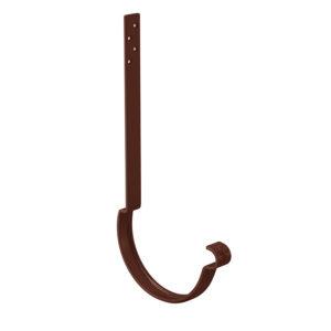 Aquasystem крюк желоба удлиненный коричневый RAL8017 PURAL