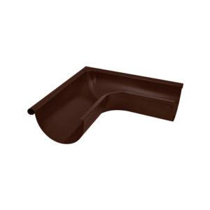 Aquasystem угол желоба внешний 90 градусов коричневый RAL8017