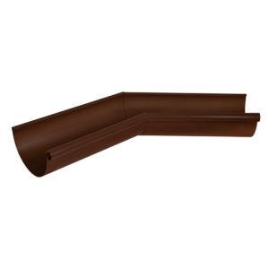 Aquasystem угол желоба внутренний 135 градусов коричневый RAL8017
