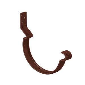 Aquasystem крюк желоба короткий коричневый RAL8017 PURAL