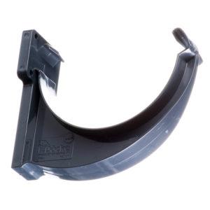 Docke Люкс крюк желоба пластиковый графит