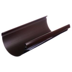 Docke Люкс желоб водосточный 3 метра коричневый