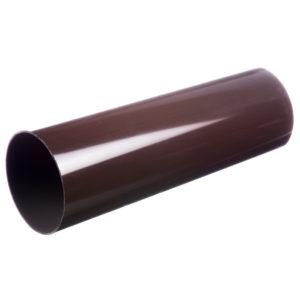 Docke Люкс труба водосточная 3 метра коричневый