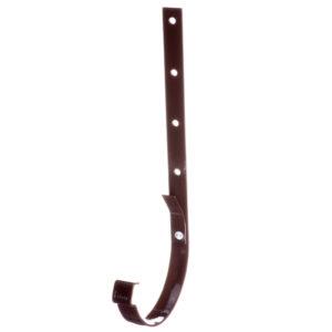 Docke Люкс крюк желоба металлический коричневый