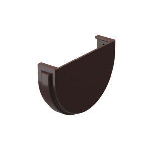 Docke Premium заглушка желоба каштан Ø120/85 мм