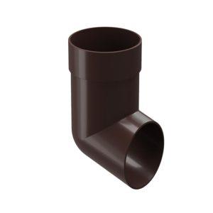 Docke Premium отвод трубы каштан Ø120/85 мм