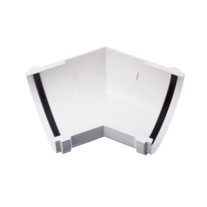 Docke Стандарт угол желоба универсальный 135 градусов белый