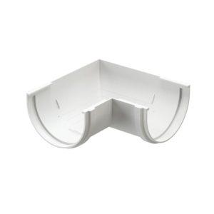 Docke Premium угол желоба универсальный 90 градусов пломбир Ø120/85 мм