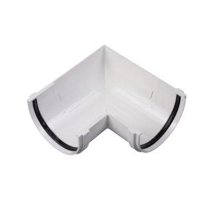 Docke Стандарт угол желоба универсальный 90 градусов белый