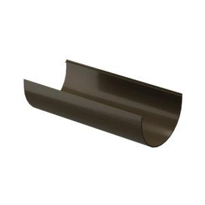 Docke Premium желоб водосточный 3 метра шоколад Ø120/85 мм