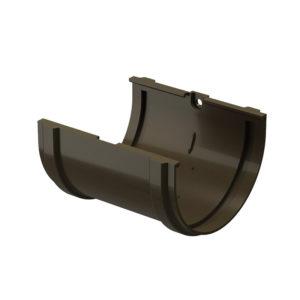 Docke Premium соединитель желоба шоколад Ø120/85 мм