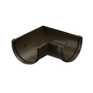 Docke Premium угол желоба универсальный 90 градусов шоколад Ø120/85 мм