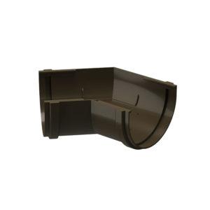 Docke Premium угол желоба универсальный 135 градусов шоколад Ø120/85 мм